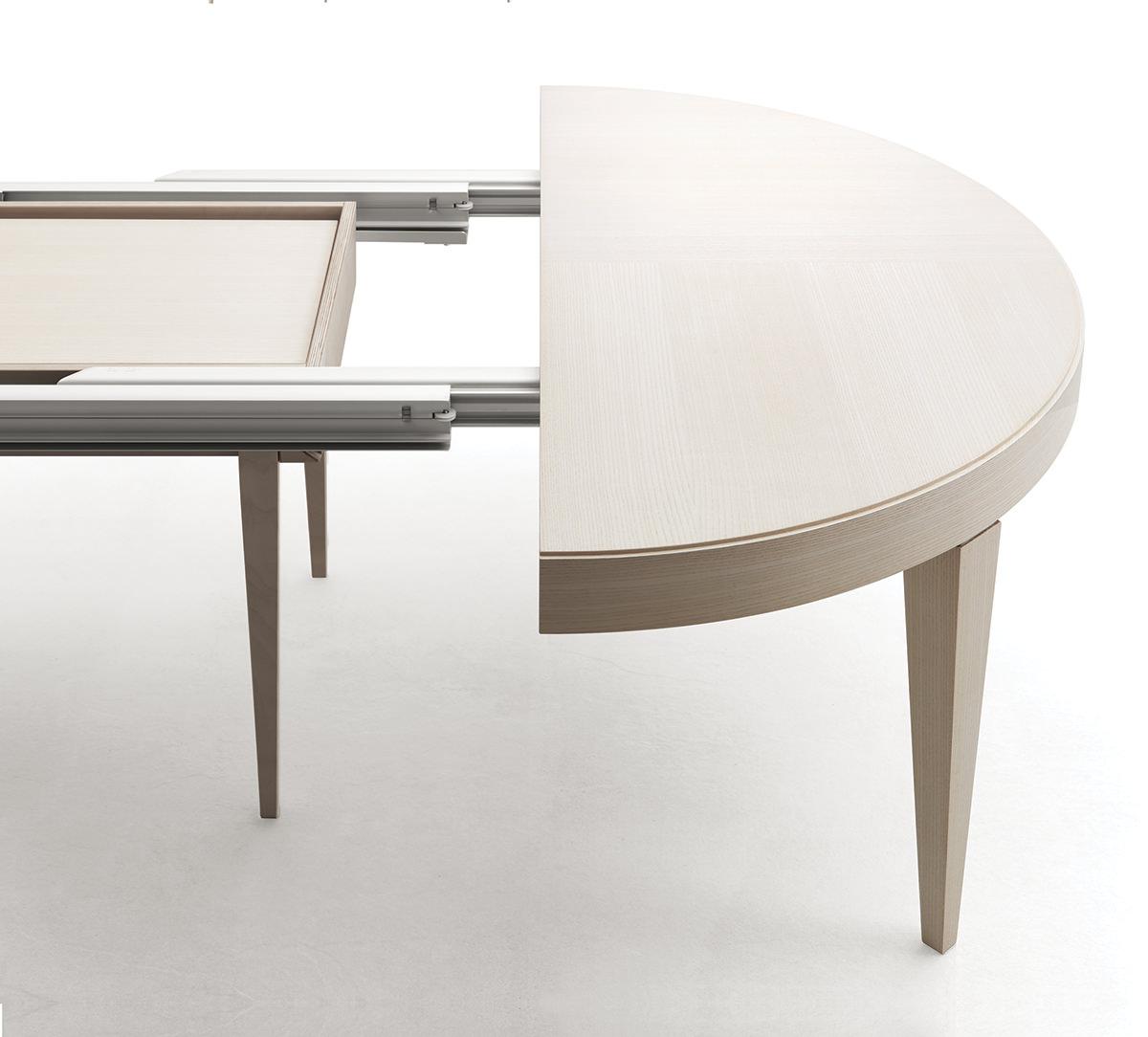 Tavolo allungabile edo tondo prodotti - Dimensioni tavolo tondo 4 persone ...