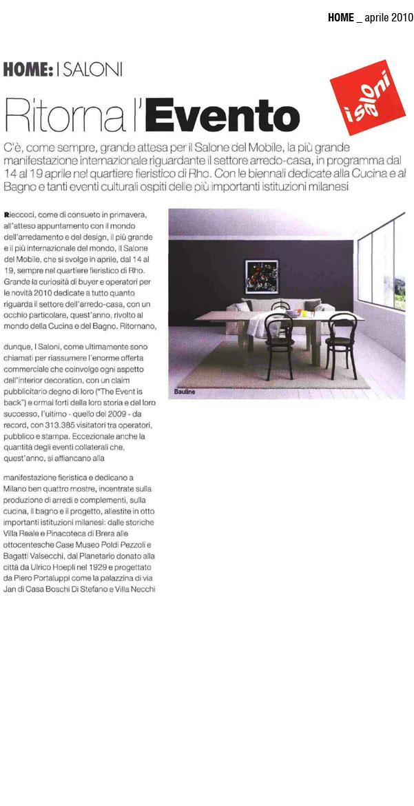 Aprile 2010, Articolo Rivista Archiportale
