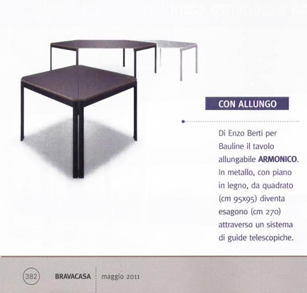 Maggio 2011, Articolo Rivista Bravacasa