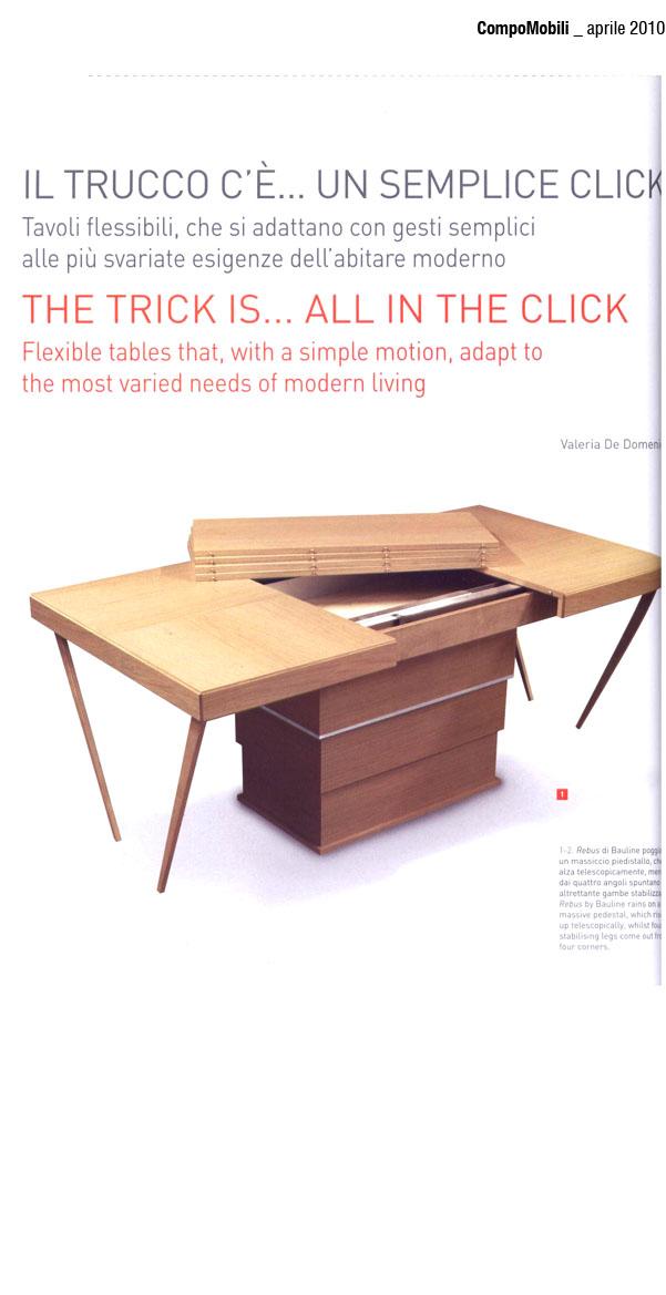 April 2010, Article Compomobili Magazine